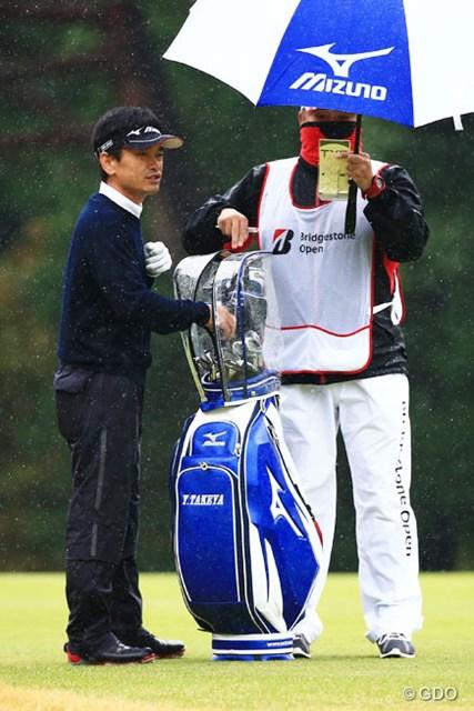 2014年 ブリヂストンオープンゴルフトーナメント 初日 竹谷佳孝 2位Tと相変わらず好調だね