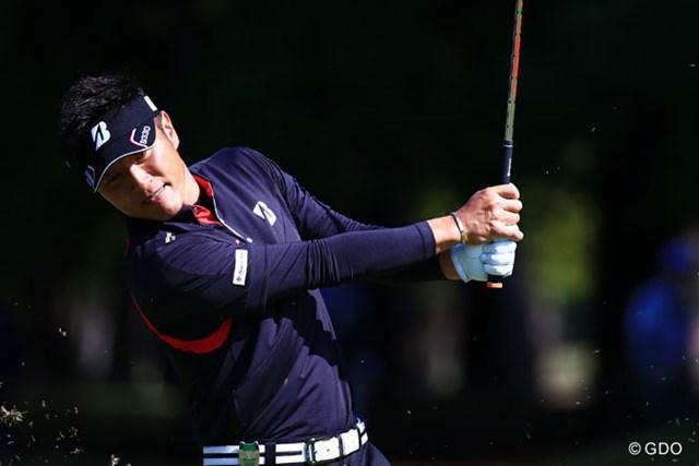 2014年 ブリヂストンオープンゴルフトーナメント 2日目 宮本勝昌 14人がエントリーしたホストプロ最上位の6位で決勝ラウンドに進んだ宮本勝昌