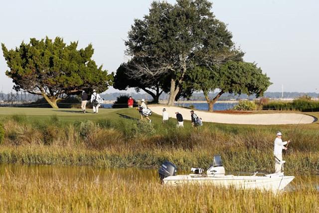 来年は、現在使用されているシーアイランドリゾートの姉妹コースであるプランテーションコースが追加され、2コースで実施される(Sam Greenwood/Getty Images)