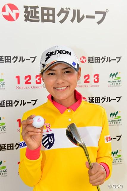 横峯は23位でフィニッシュ。賞金のかからない14番で達成したが特別に30万円が贈呈された