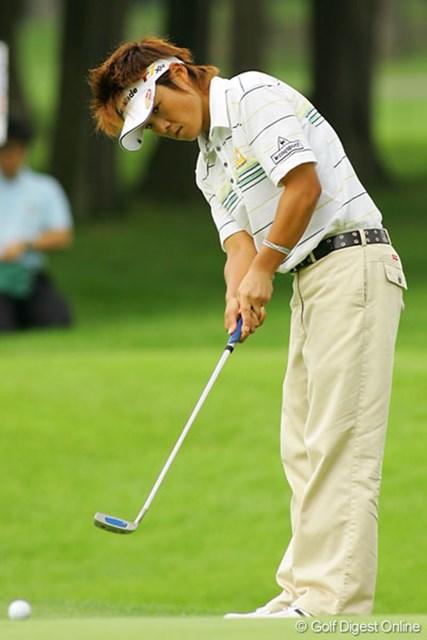 山口裕子 久しく優勝から遠ざかっている山口裕子が上位をキープ