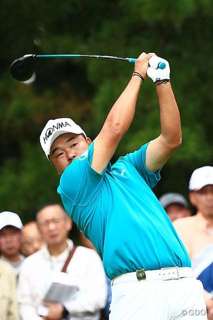 2014年 ブリヂストンオープンゴルフトーナメント 最終日 小田孔明 「ショットは良かった」賞金ランク1位に返り咲いても、攻めるプレーを宣言
