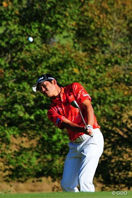 2014年 マイナビABCチャンピオンシップゴルフトーナメント 初日 貞方章男 今季は目立った好成績がない貞方章男が首位タイスタート