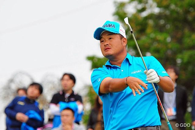2014年 マイナビABCチャンピオンシップゴルフトーナメント 2日目 小田孔明 ショットに絶対的な自信を持つ小田孔明が首位と1打差2位に浮上した