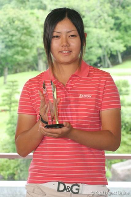 横山恭子 ベストアマは横山恭子。高校も辞め、ゴルフに打ち込む決意を固めた!