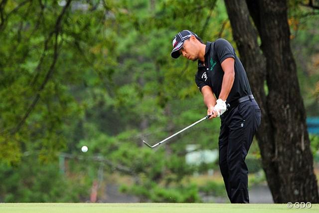 2014年 マイナビABCチャンピオンシップゴルフトーナメント 2日目 小平智 丁寧なゴルフで60台のスコアを維持し続ける小平智