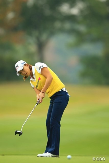 2014年 樋口久子 森永レディス 初日 原江里菜 前半は大人しいゴルフでしたが、バックナインで爆発!さぁ、久々の優勝へ!3アンダー4位タイ。