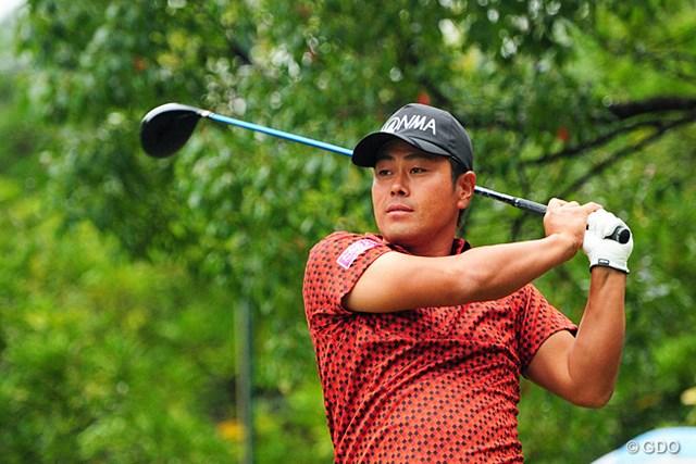 2014年 マイナビABCチャンピオンシップゴルフトーナメント 3日目 谷原秀人 ショットは問題ないが、パットがとにかく入らなかったと嘆く谷原秀人