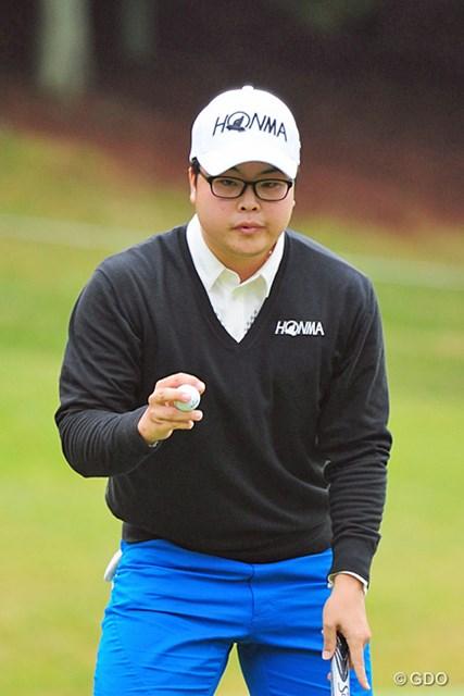 2014年 マイナビABCチャンピオンシップゴルフトーナメント 3日目 ハン・ジュンゴン まったく地味で目立たん人なんやけど、ソコソコ来るんですワ。アンちゃん似やけど、ポーズはスッゴク小さいです。4位T