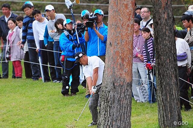 2014年 マイナビABCチャンピオンシップゴルフトーナメント 3日目 小田孔明 雨が上がってからのスタートやったんで、今日も伸ばすやろうと思てたんやけど、1つしか伸ばせませんでした。4位T
