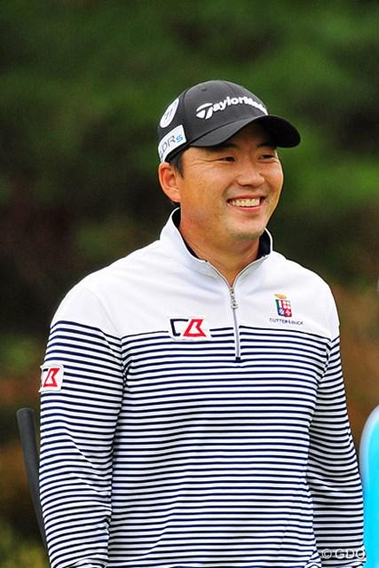 2014年 マイナビABCチャンピオンシップゴルフトーナメント 3日目 H.W.リュー 今日は5人の韓国選手が4アンダーの67をマークしてジワっと上位に顔を出してきましたけど…。10位