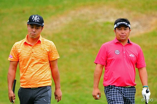 2014年 マイナビABCチャンピオンシップゴルフトーナメント 最終日 小田龍一、谷原秀人 共に前半で3つ伸ばし、中盤以降はガップリ四ツのバーディ合戦で、久しぶりに日本人対決の面白い展開になりました。