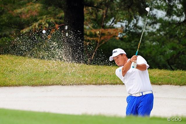 2014年 マイナビABCチャンピオンシップゴルフトーナメント 最終日 小田孔明 ショットは思い通りに行かなかったようやけど、小ワザでしのいで8つも伸ばして2位タイ。やっぱり強いですワ。
