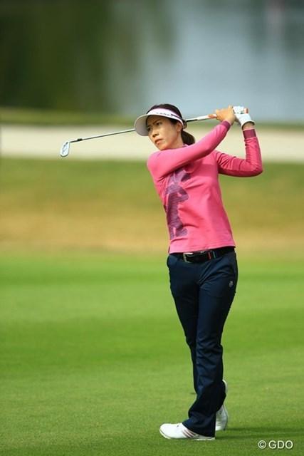 2014年 樋口久子 森永レディス 最終日 李知姫 もう見てて可哀想なぐらい、ゴルフが急変してしまいました。2アンダー17位タイフィニッシュ。
