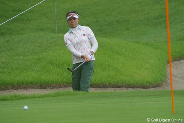 張娜 中国出身の張娜(チャンナ)が、首位に3打差の2位タイと上々の滑り出し