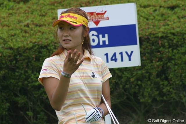 藤田幸希 前週の優勝者、藤田幸希は8位タイスタート。