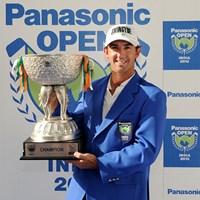 昨年、初日から首位を守る完全優勝でツアー初勝利を飾ったウェイド・オームスビー(画像提供:アジアンツアー) 2014年 パナソニックオープン インディア 事前 ウェイド・オームスビー