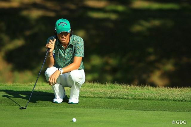 石川遼は36位に順位を上げ決勝ラウンドへ。ライン読みへの迷いを繰り返した