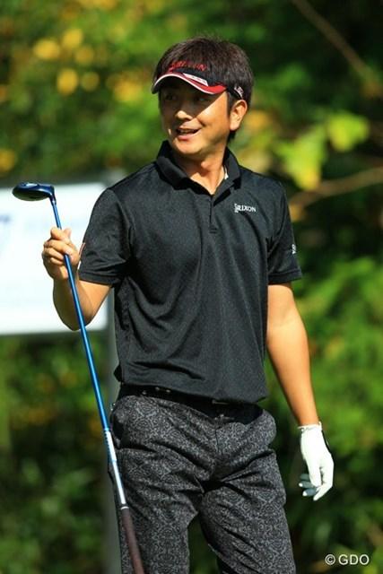 2014年 HEIWA・PGM CHAMPIONSHIP in 霞ヶ浦 2日目 冨山聡 いつもながらサラリサラリとスコアを伸ばしてきます。気が付けば3位タイ!そんな感じのゴルフです。