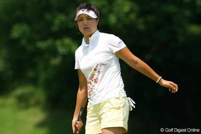 全美貞 最終日も安定したゴルフでいつの間にか3位タイに浮上してきた全美貞