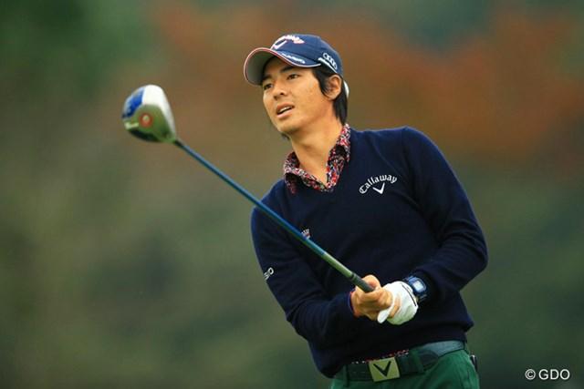 石川遼は52位で4日間を終了。ティショット後に表情をゆがめるシーンが目立った