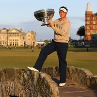 ゴルフの聖地で欧州ツアー2勝目を達成したN.ドハティ(Getty/AFLO) ニック・ドハティ