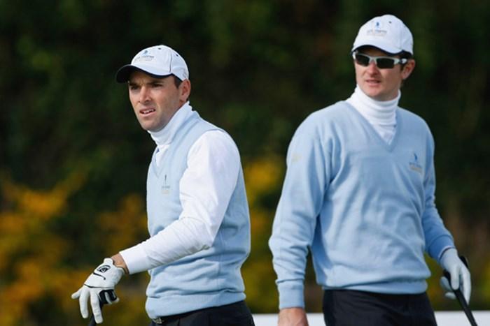 英国チームのJ.ローズ(右)とO.ウィルソンはポイントを奪えなかった(Getty/AFLO) J.ローズ(右)とO.ウィルソン