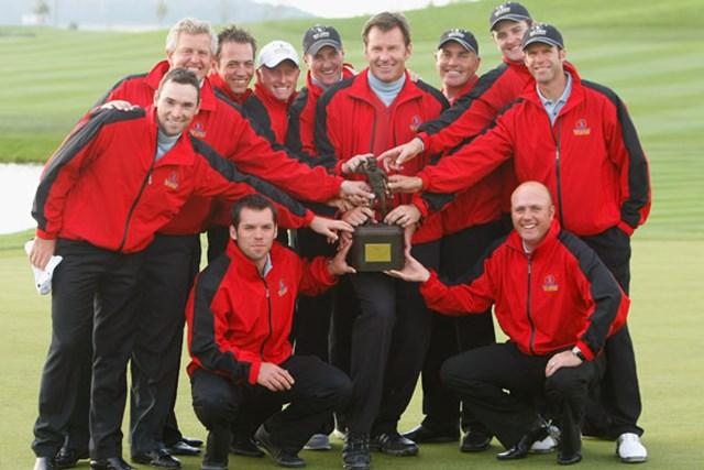 英国&アイルランド選抜 英国&アイルランド選抜が一気に突き放し、大会4連覇を飾った(Getty/AFLO)