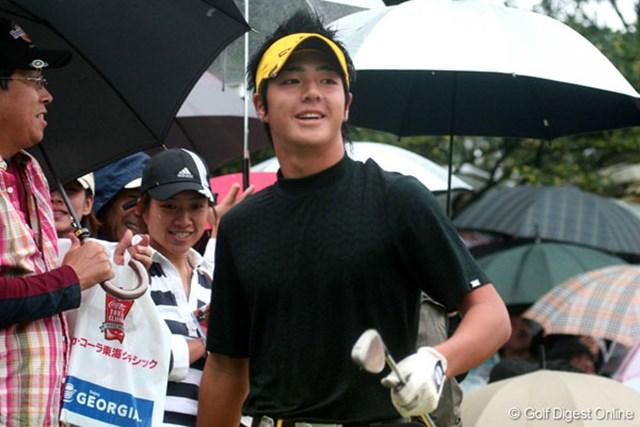 石川遼 最終日は、爽やかな笑顔もあまり見られなかった