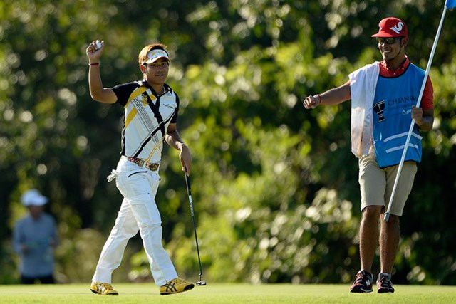 2位に2打差をつけてツアー初優勝に王手をかけたタンヤゴーン・クロンパ ※写真提供:アジアンツアー