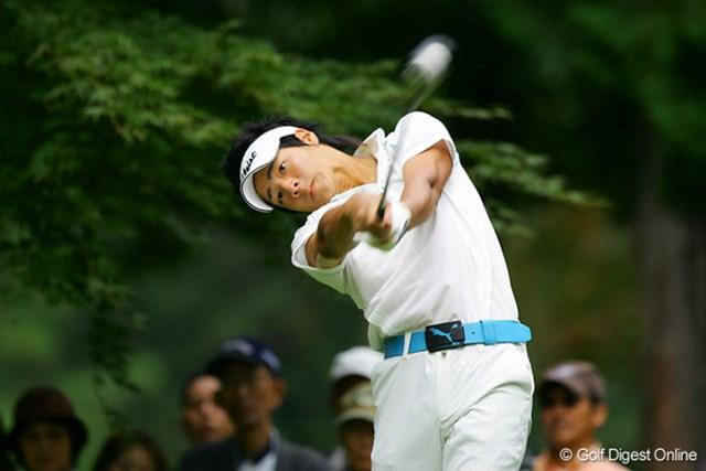 石川遼 初の「日本オープン」を翌日に控え練習ラウンドを行った石川遼