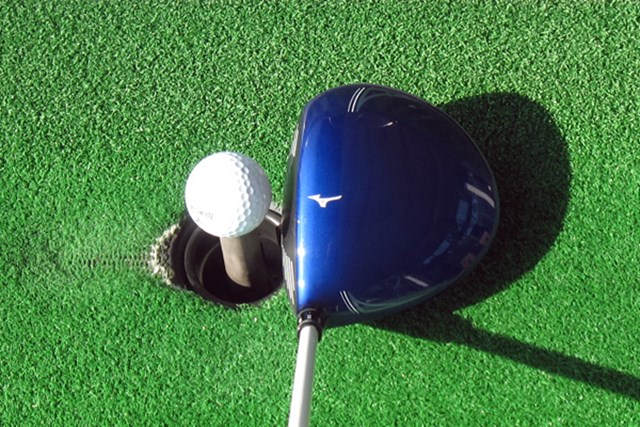 新製品レポート ミズノ JPX 850 ドライバー ヘッドのカラーはミズノブルーと鮮やか