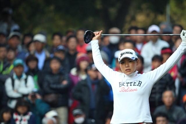 横峯の最新ランクは前週から4つ順位が上がり、日本人最上位をなる世界44位