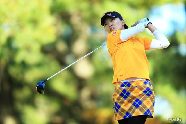 2014年 LPGAツアー選手権リコーカップ 初日 テレサ・ルー リゾートトラストレディス、日本女子オープンの2勝で賞金ランキング4位で出場。3アンダー4位タイスタートです。