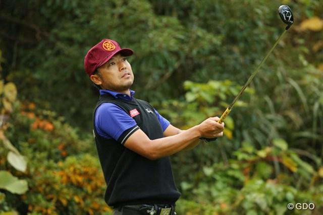 2014年 カシオワールドオープンゴルフトーナメント 2日目 片山晋呉 ビッグスコアをマークした片山が未勝利の地で首位に浮上した