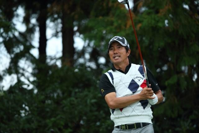 2014年 カシオワールドオープンゴルフトーナメント 2日目 深堀圭一郎 深堀/いつもいつも爽やかだなぁ。