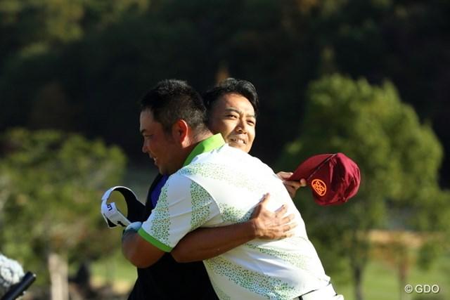 2014年 カシオワールドオープンゴルフトーナメント 2日目 片山晋呉 小田龍一 この二人、アチチです。
