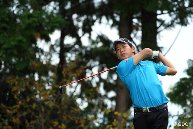 2014年 カシオワールドオープンゴルフトーナメント 2日目 平本穏 予選を5位タイで通過した平本穏。このまま上位に入りファイナルQT出場を目指す