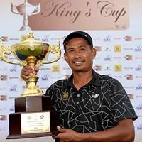 ウィラチャンが逆転でツアー18勝目を飾った(アジアンツアー提供) 2014年 キングスカップ 最終日 タワン・ウィラチャン