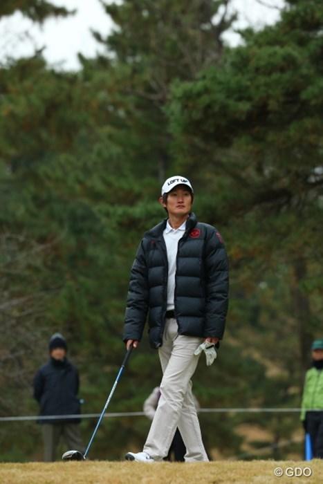 どうせ同組で俺だけキャディが彼女じゃないですよ。 2014年 ゴルフ日本シリーズJTカップ 初日 ジャン・ドンキュ