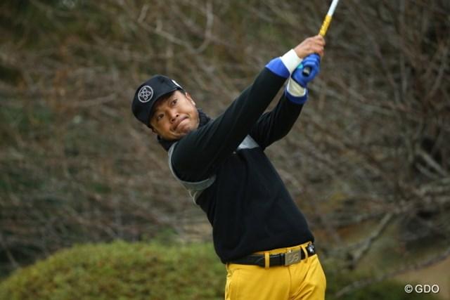2014年 ゴルフ日本シリーズJTカップ 初日 片山晋呉 マンッ!