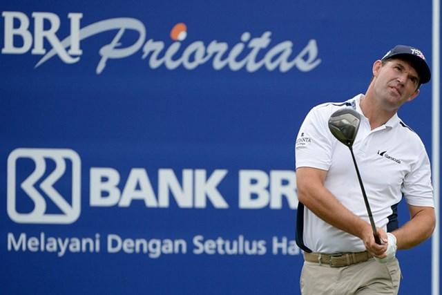 2014年 インドネシアオープン 初日 パドレイグ・ハリントン メジャー3勝の実力発揮 パドレイグ・ハリントンが2位スタート(写真提供:アジアンツアー)