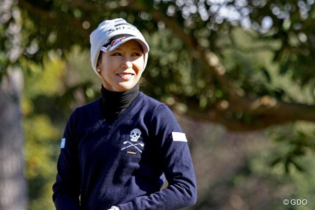 シードを喪失した金田久美子は23位通過。無事に来季ツアー出場権を手にした