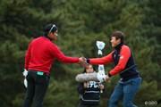 2014年 ゴルフ日本シリーズJTカップ 3日目 宮里優作 イ・サンヒ