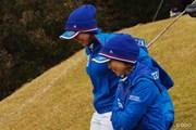 2014年 日韓女子プロゴルフ対抗戦 初日 原江里菜 上田桃子