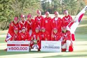 2014年 日韓女子プロゴルフ対抗戦 最終日 韓国選抜