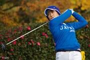 2014年 日韓女子プロゴルフ対抗戦 最終日 原江里菜