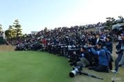 2014年 ゴルフ日本シリーズJTカップ 最終日 カメラマン