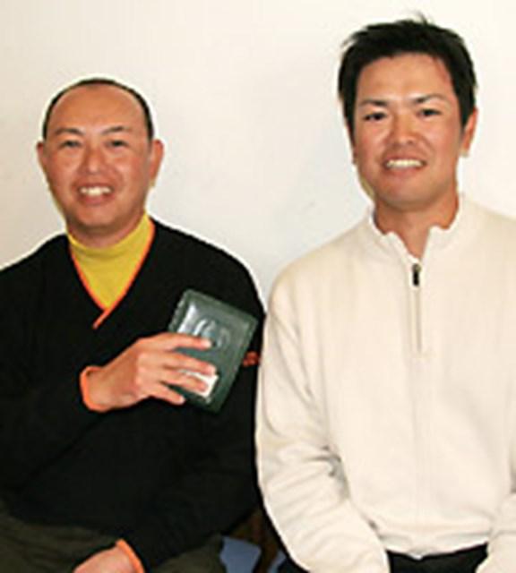 谷口徹と武藤俊憲 イベントに特別参加した谷口徹は武藤俊憲を捕まえ得意の説教を始めた