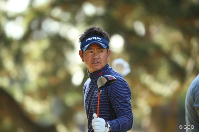 2014年 JGTO表彰式 藤田寛之 今シーズンをなんとか乗り切った藤田寛之。左肩の状態は想定よりは良かったというが…。